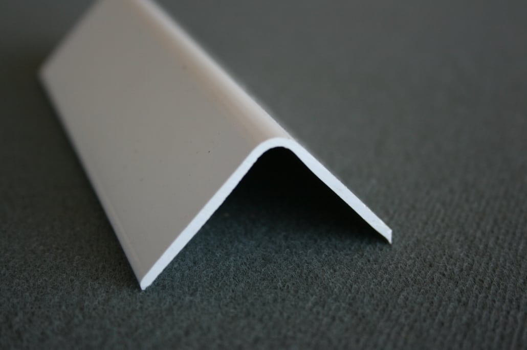 standard rigid plastic angle section
