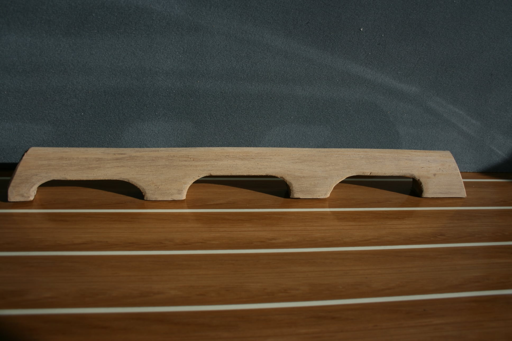 teak effect plastic extrusion trims for boats