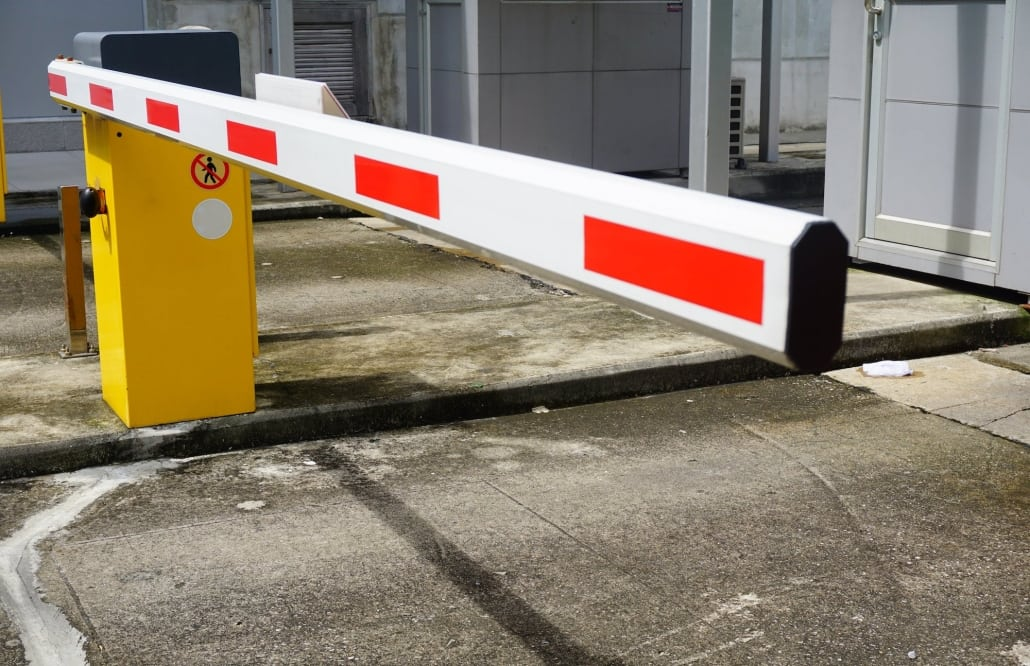 plastic extrusion safety barrier